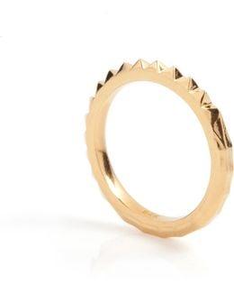 Crocodile Ring Gold