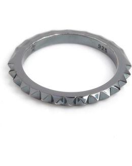 Crocodile Ring Black