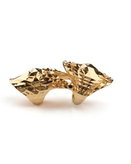 Armour Ring Gold