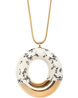 Doughnut With Poppy Seeds & Gold Glaze