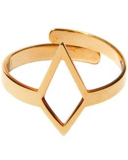 Ruit Adjustable Knuckle Ring Small Gold