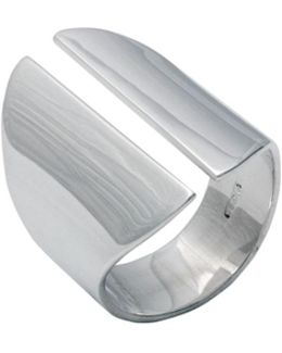Wedge Ring Silver