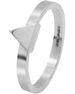 Triangle Stacking Ring Silver