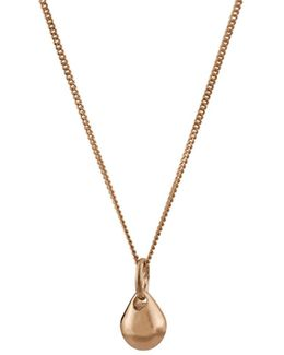 Teardrop Pendant Gold