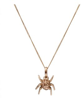 Spotted Bug Pendant Gold