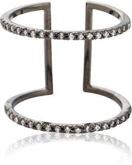 Double Bewitched Ring Gunmetal