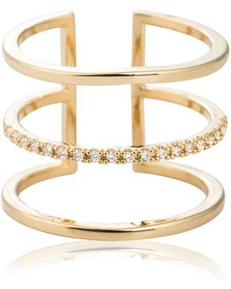 Triple Bewitched Ring Gold
