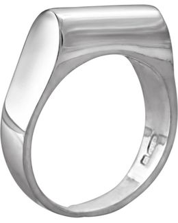 High Top Ring Silver