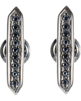 Crystal Studs Black