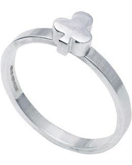 Club Stacking Ring Silver