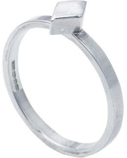 Diamond Stacking Ring Silver