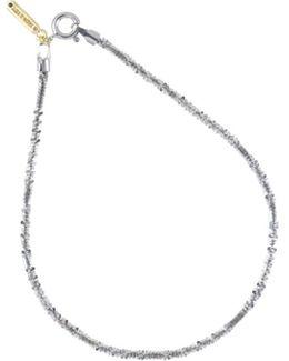 Spiny Lizard Chain Bracelet Silver