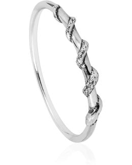 Tiny Snake Ring Silver