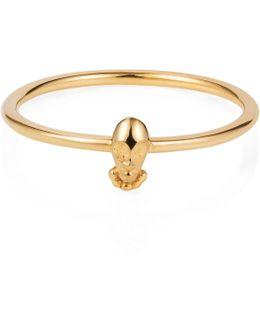 Tiny Voodoo Orunla Ring – Gold Vermeil
