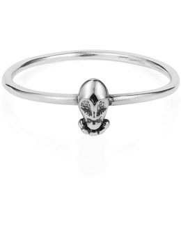 Tiny Voodoo Orunla Ring Silver