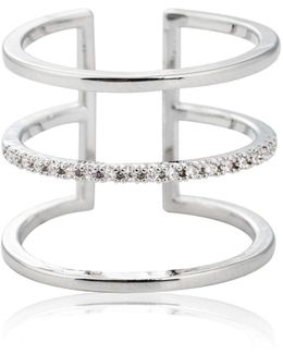 Triple Bewitched Ring In Silver