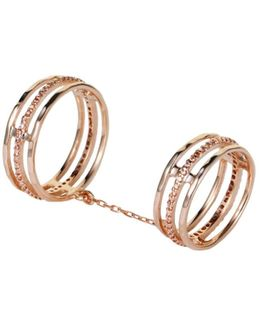 Victoria Falls Ring Rose Gold