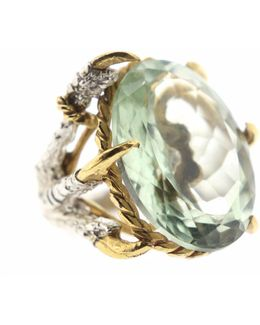 Green Quartz Deborah Ring