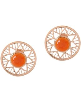Chelsea Carnelian Earrings