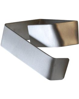 Wait Here Help Is On The Way Silver Cuff