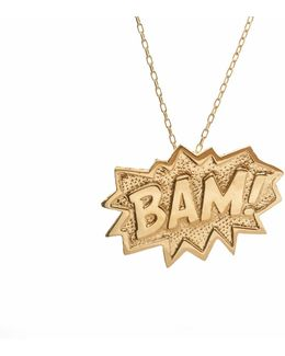 Bam Pendant Extra Large In Gold