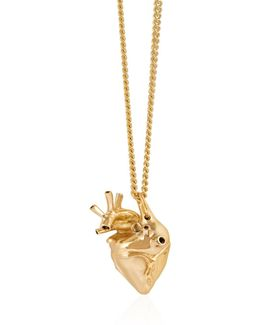 Small Heart Pendant Gold