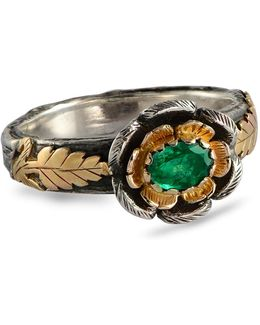 Buttercup Gold Emerald Ring