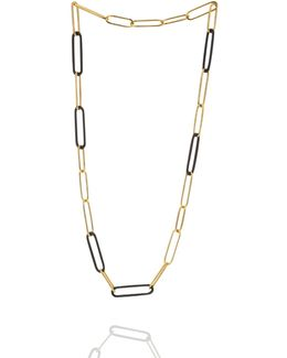 Koco Midnight Links Long Necklace