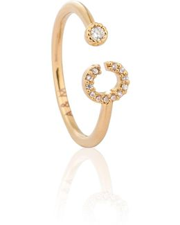 Gold Initial C Ring