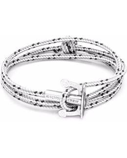 Grey Dash Union Silver & Rope Bracelet