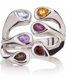 Multi Coloured Embrace Ring