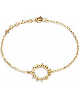 Gold Bracelet Sun