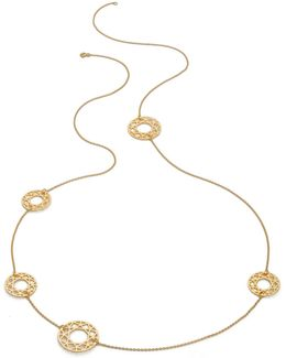 Gold Multi-brilliant Diamond Necklace