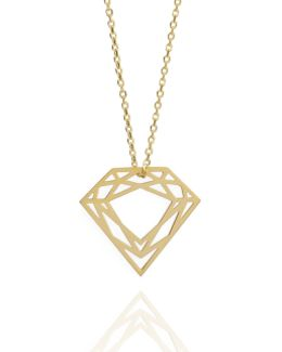 Gold Classic Diamond Necklace