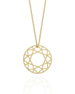 Medium Gold Brilliant Diamond Necklace