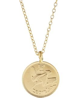 Worth Your Weight In Gold Farthing Coin Necklace