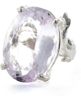 Glimmer In The Wild In Amethyst & Silver