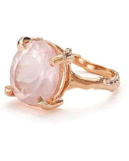 Drop In The Wild In Rose Quartz & Rose Gold