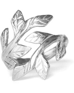 Wrap Your Laurels Around Me Ring Silver