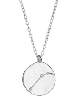 Aries We Are All Made Of Stars Star Sign Necklace In Silver
