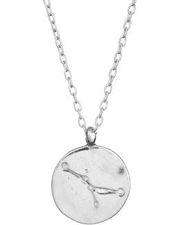 Cancer We Are All Made Of Stars Star Sign Necklace In Silver