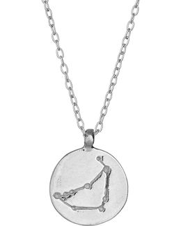 Capricorn We Are All Made Of Stars Star Sign Necklace In Silver