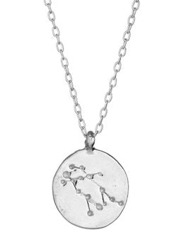 Gemini We Are All Made Of Stars Star Sign Necklace In Silver