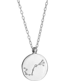 Scorpio We Are All Made Of Stars Star Sign Necklace In Silver
