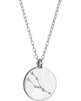 Taurus We Are All Made Of Stars Star Sign Necklace In Silver