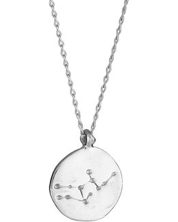 Virgo We Are All Made Of Stars Star Sign Necklace In Silver
