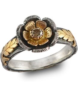 Buttercup Diamond Gold Ring