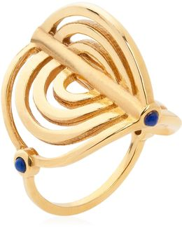 Miami Circle Ring Gold