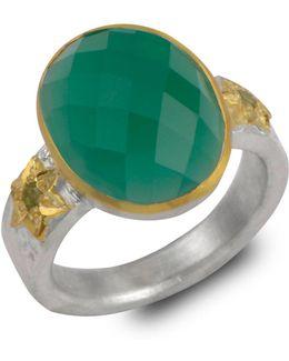 Omnia Green Onyz Ring