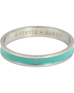 'o' Alphabet Bangle Mint
